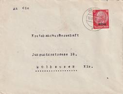 France Alsace Occupation Allemande Lettre Häsingen 1941 - Elzas-Lotharingen