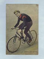 CPA Cyclisme Édition M. Rosenberg, Bruxelles. Robert WALTHOUR, Stayer Américain. - Wielrennen