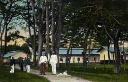 Indonesia, SUMATRA LAGUBOTI, Industrial School, Batak (1910s) Postcard - Indonésie