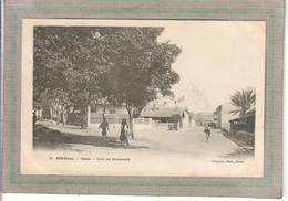 CPA - DAKAR - SENEGAL - Aspect D'un Coin Du Boulevard En 1900 - Senegal