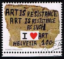 Schweiz 2011,Michel# 2203 O Art Series - Venice Biennale - Gebruikt