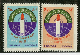 W 16949 *Offers Welcome* 1970 Sc.1572-73 Mnh** - Iran