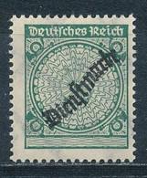Deutsches Reich Dienstmarken 100 P A I * Ungebraucht Geprüft Schlegel Mi. 150,-   Abart: Ohne Wertangabe - Dienstpost