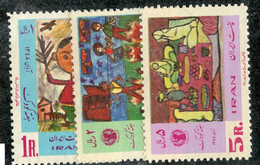 W 16962 *Offers Welcome* 1969 Sc.1530-32  Mnh** - Iran