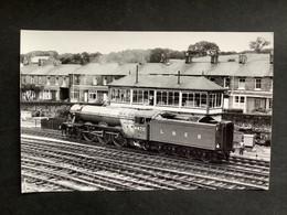 Photo Originale De Marc DAHLSTRÖM :British Railways : Locomotive Vapeur 4472 En Gare De Skipton  En 1979 - Trains