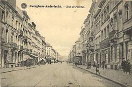 REF4039/ CP-PK Cureghem - Anderlecht - Bruxelles Rue De Fiennes Animée - Anderlecht