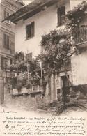 ITALIE. ISOLA PESCATORI . DEVANTURE MAISON . 1911 . Pour Les PAYS-BAS. TIMBRE 77 ( Petit Piquage à Cheval ) - Altre Città