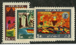 W 16985 *Offers Welcome* 1968 Sc.1492-94  Mnh** - Iran