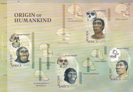 Afrique Du Sud :  Préhistoire Origines De L'Humanité Feuillet 134 à 137 Neuf XX - Preistoria