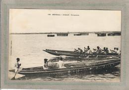 CPA - DAKAR (Sénégal) - Aspect Des Pirogues Et Piroguiers En 1900 - Senegal