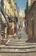 ITALIE. BELLAGIO.  RUE SERBELLONI . 1914. Pour PAYS-BAS . Timbre 77 - Altre Città
