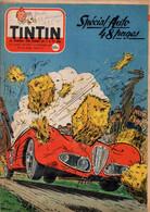 Tintin N°477 Spécial Auto - Au Salon De Turin - Au Volant De La Vespa 400 - La Fabrication Des Moteurs Perkins - Simca.. - Tintin