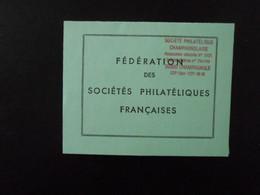 FRANCE LIVRET DE RANGEMENT DES VIGNETTES DE COTISATION ** - Autres