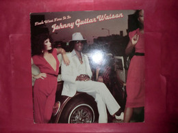 LP33 N°7915 - JOHNNY GUITAR WATSON - THAT'S WHAT TIME IS IT - AMLH 64880 - MADE IN HOLLAND - FUNK SOUL DISCO ***** - Soul - R&B