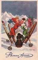 CPA - ILLUSTRATEUR ROB VEL (Robert Velter Ou BOZZ) - Dessin D'ENFANTS Au SKI - Edition Photochrom - Other Illustrators