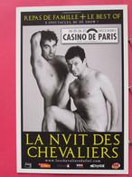 La Nuit Des Les Chevaliers Du Fiel - Casino De Paris Décembre 2007 - Excellent état - R/verso - Artisti