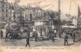DIEPPE - Départ Du Rapide De Paris - Dieppe