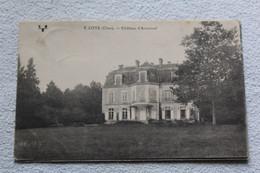 Cpa 1923, Loye, Château D'Arnonval, Cher 18 - Autres Communes