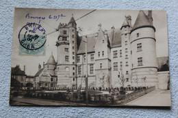 Cpa 1906, Bourges, Façade Sud Du Palais Jacques Coeur, Cher 18 - Bourges