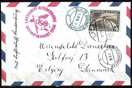634 - GERMANY - 1936 - ZEPPELIN - OLYMPIC FLIGHT - COVER - FORGERY, FALSE, FAKE, FAUX, FALSO FALSCH - Verzamelingen (zonder Album)