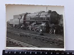 #14 Vintage  Original Photo Steam Locomotive - Trains