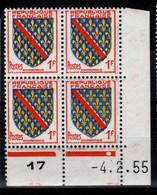Coin Daté - YV 1002 N** Du 4.2.55 , 1 Point - 1950-1959