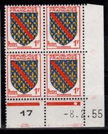 Coin Daté - YV 1002 N** Du 8.2.55 , 1 Point - 1950-1959