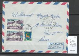 Reunion - Lettre SAINT ANDRE 1965 - Covers & Documents