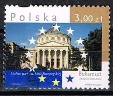 Polen 2010,Michel# 4498 O  Hauptstädte Von EU-Staaten: Bukarest - Usati