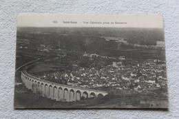 Cpa 1928, Saint Satur, Vue Générale Prise De Sancerre, Cher 18 - Saint-Satur