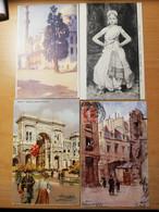 Lot De 212 Cpa Fantaisies D Illustrations - 100 - 499 Postcards