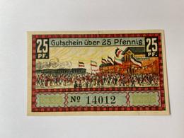 Allemagne Notgeld Suderbrarup 25 Pfennig - Verzamelingen
