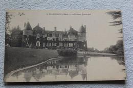 Villegenon, Le Château, Façade Est, Cher 18 - Autres Communes