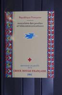FRANCE - Carnet Croix Rouge De  1961 - L 96346 - Croce Rossa