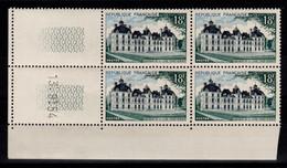 Coin Daté - YV 980 N** Cheverny Coin Daté Du 13.9.54 - 1950-1959