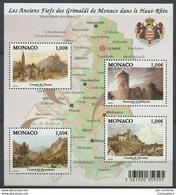 MONACO 2010 N° 2731/2734 ** Neuf MNH Superbe Fiefs Grimaldi Haut-Rhin Comtés De Thann De Ferrette Rosemont D' Altkirch - Non Classificati