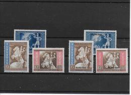 Deutsches Reich,  1942 - Europäischer Postkongress Wien - Mit & Ohne Überdruck - Postfrich Mit Erstfalz - Ongebruikt