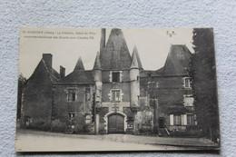 Cpa 1921, Aubigny, Le Château, Hôtel De Ville, Ancienne Résidence Des Stuarts Sous Charles VII, Cher 18 - Aubigny Sur Nere