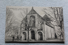 Cpa 1933, Avord, L'église, Monument Historique, Cher 18 - Avord
