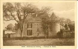 """CP Environs De COZES """" Château De Théon """" - Saintes"""