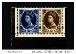 GREAT BRITAIN - 2003  WILDING 47p.+68p. EX PRESTIGE BOOKLET  MINT NH - Unused Stamps