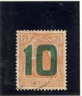 POLOGNE Timbre D'Allemagne 1919 Surchargé N° 62 Oblitéré - Oblitérés