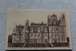 Cpa 1937, U S Metaux, Château De Vouzeron, Façade D'honneur, Cher 18 - Vouzeron