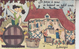 LIMOGES  CARTE A SYSTEME - Limoges