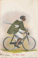 India Postcard The Bamboo Cyclist 1905 - India