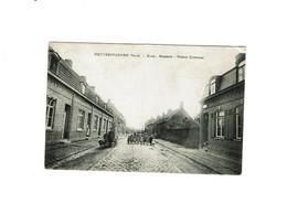 OUTTERSTEENNE-Bailleul- Ecole Brasserie-Maison Commune 'ATTELAGE De Chiens) 1915 - Autres Communes
