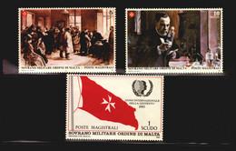 1985 Youth Year Medical SMOM Medicin PASTEUR ANTI RABIES VACCINE MNH Order Of Malta Flag (LB_160) - Louis Pasteur