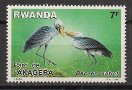 Rwanda - 1986 - N°Yv. 1218 - Oiseau / Bird / Bec En Sabot - Neuf Luxe ** / MNH / Postfrisch - Non Classificati