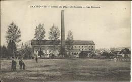 LAVERDINES , Annexe Du Dépôt De Remote , Les Parcours , 1915 , CPA ANIMEE - Autres Communes