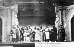 """BESANCON - 2 CPA Du Théâtre """"La Passion"""" à Besançon-St-Claude. Clichés Simonet. Bon état. 2 Scan. - Besancon"""